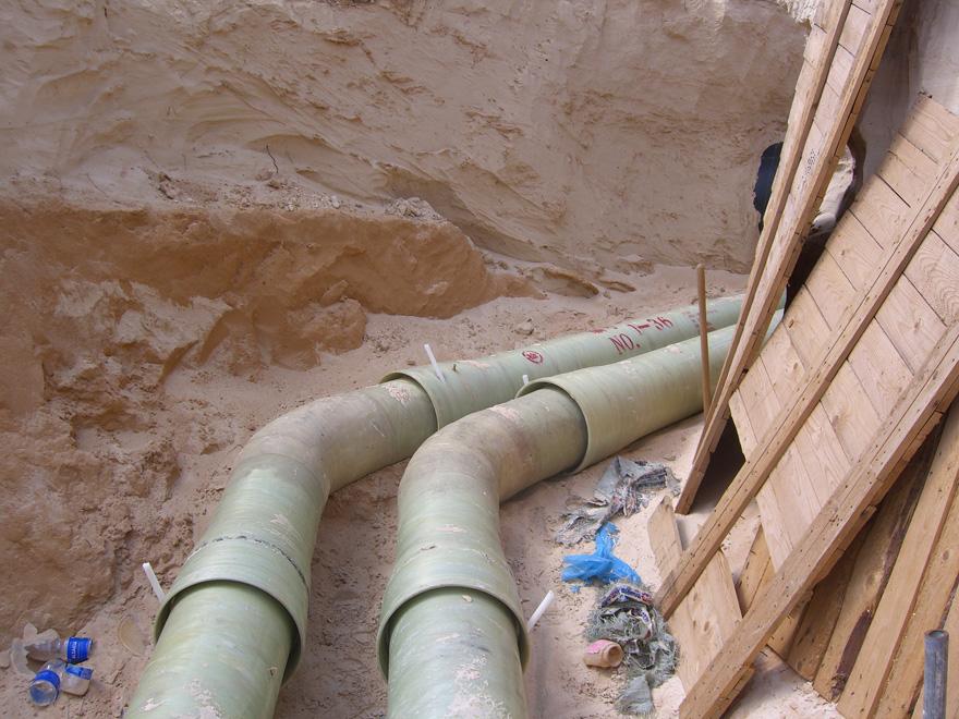 LD乐动体育官网弯头-利比亚西尔特油田消防管线